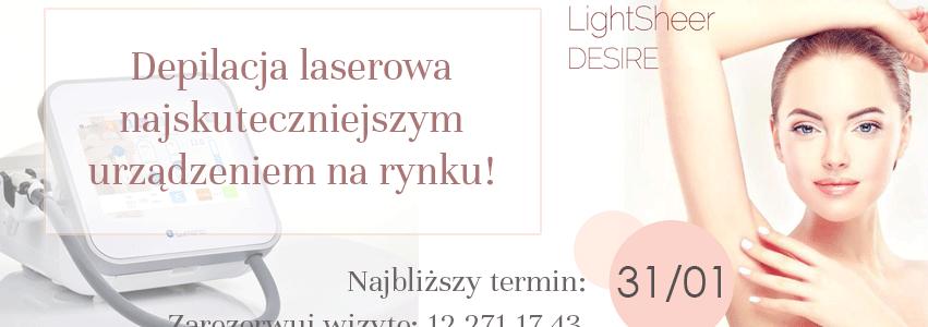 Depilacja Light Sheer DESIRE
